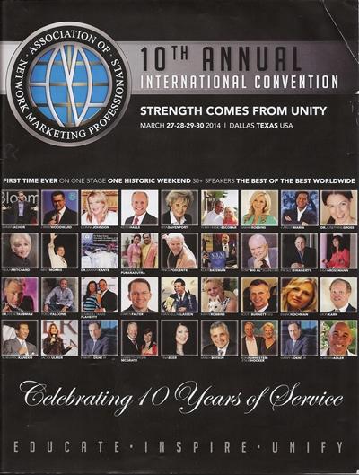 2014 Program Cover